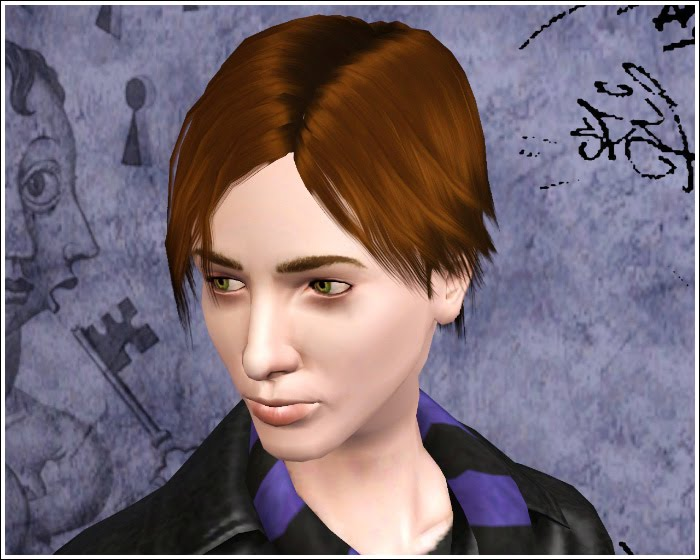 cowlick hairstyles. Default Replacement Hair Textures + Bonus Hair - Set One