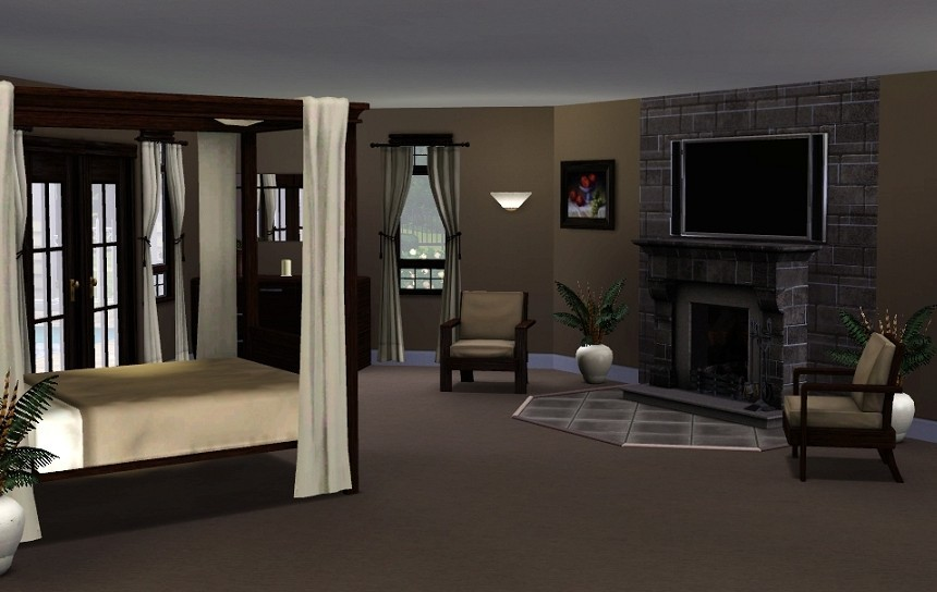 My sims 3 blog nov 17 2009 for Bedroom designs sims 4