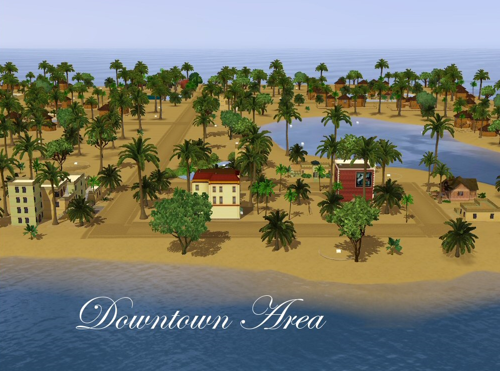 how to make an island on the sims 3