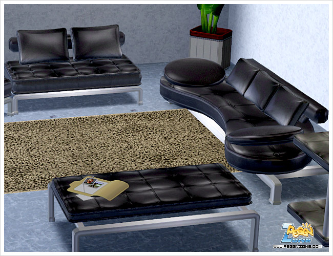 My sims 3 blog new living room set by peggy for Sims 3 living room sets