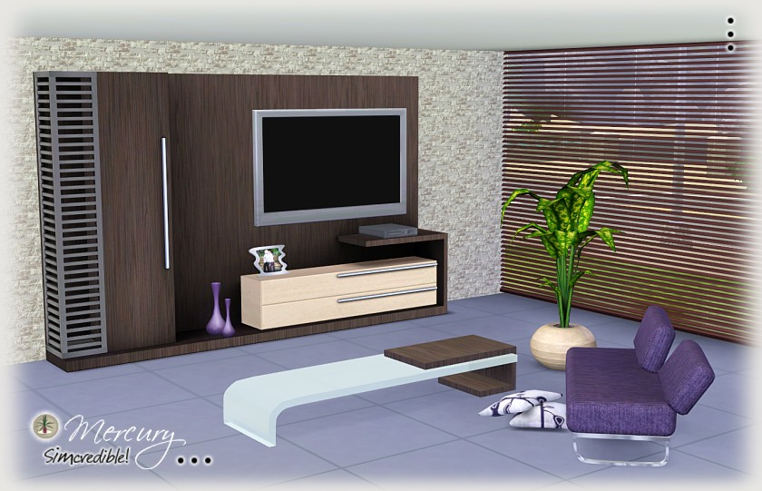 My Sims 3 Blog Mercury Living Room Set By Simcredible Designs