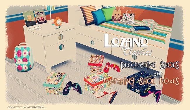 My Sims 3 Blog Lozano Classics Decorative Shoes Shoe