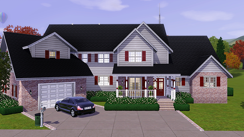 My Sims 3 Blog Sweet Home Americana By Sims 3 Properties