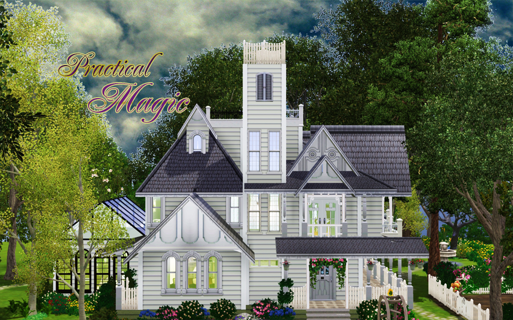 My Sims 3 Blog Practical Magic House By Camille