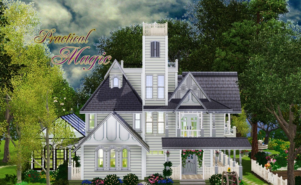 My Sims 3 Blog: Practical Magic House by Camille