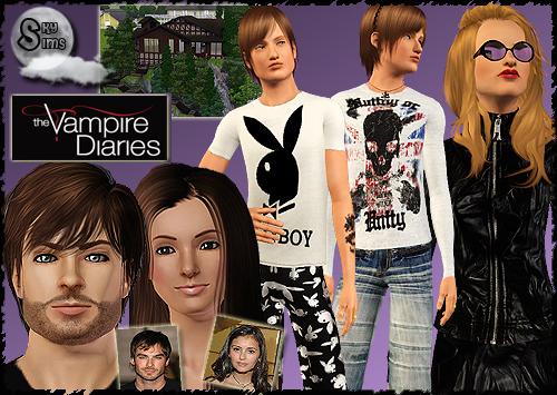 New Clothing, Sims and Lots by Nadiah. Download at Sky Sims
