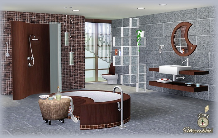My sims 3 blog moonglow bathroom by simcredible designs for Bathroom ideas sims 3