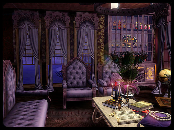 My Sims 3 Blog The Vampire House By M 39 House