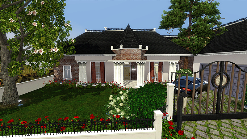 my sims 3 blog sweet home americana by chinita On sims exteriors