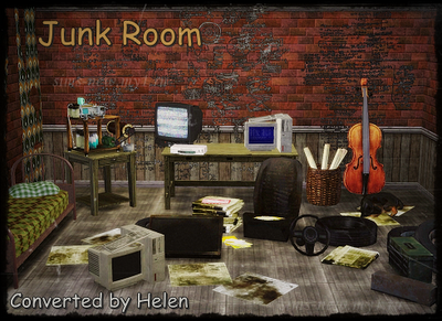 My Sims 3 Blog Junk Room By Helen