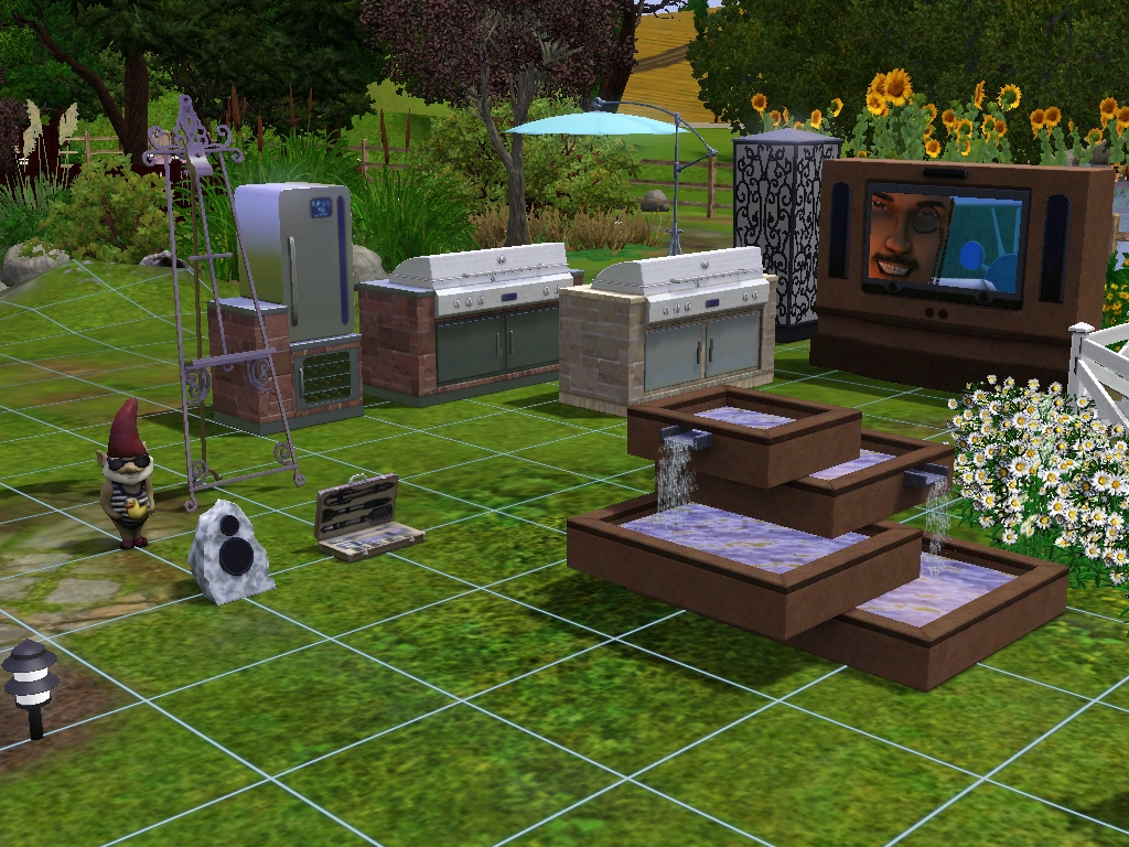 My sims 3 blog new sims 3 outdoor living stuff screens for Patios y jardines fotos