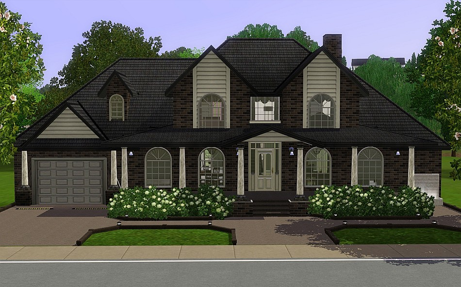My Sims 3 Blog Brown Sugar A Generation House By Romagi