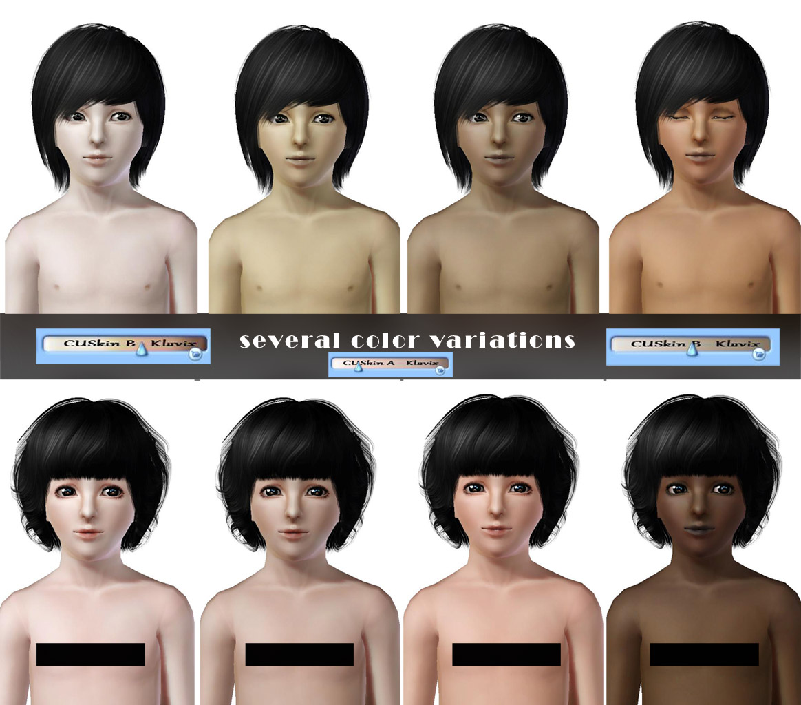 Sims 2 naked kid skins softcore beauties