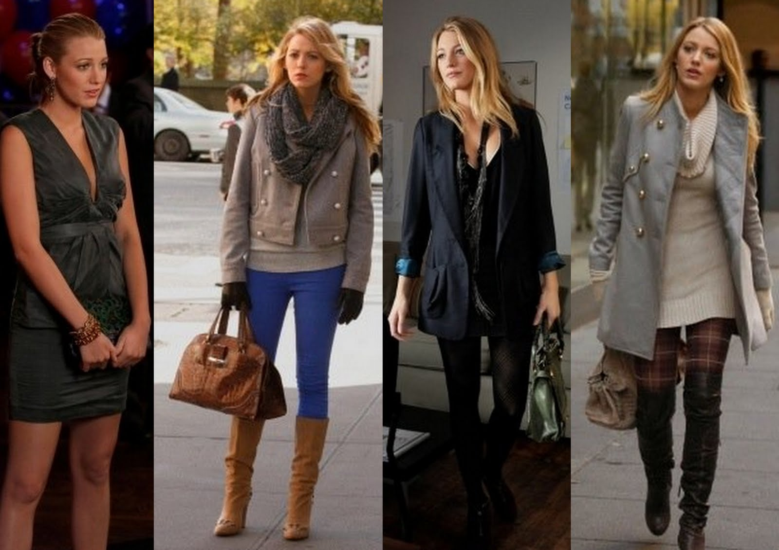 Vogue and cigarettes blair vs serena style from gossip Fashion style of gossip girl