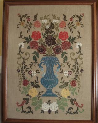 tapiz de rosas