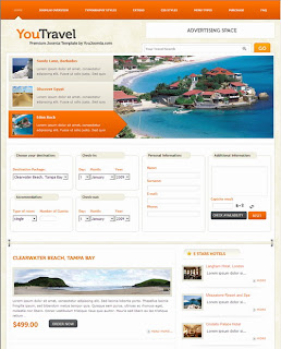 You Travel – YouJoomla Travel Template