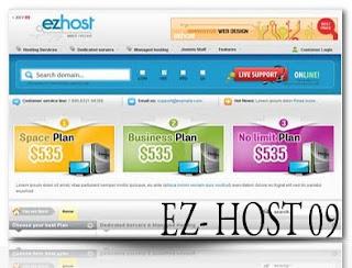 EzHost – bonusthemes 2009 Joomla Template