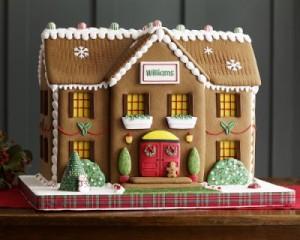 Gingerbread Houserecipe Using Cake Mix