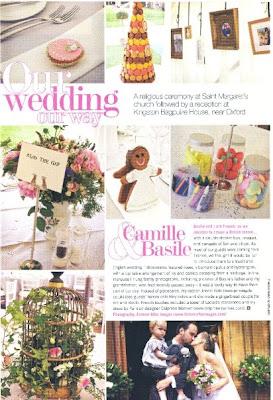 wedding magazine camille basile rosie parsons