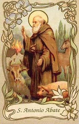 Cantate domino sant 39 antonio abate e la benedizione degli for Arredo bimbo sant antonio abate