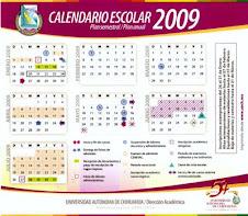 Calendario escolar 2009-2010.Haz click sobre la imagen para acceder al calendario escolar .
