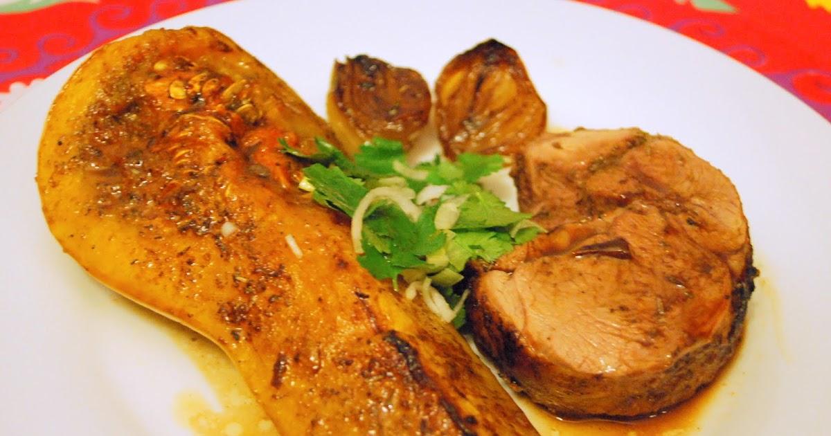 La cuisine de juliette epaule d 39 agneau butternut et - Recette de jamie oliver sur cuisine tv ...