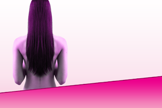 GotPrint spa background for postcards - female body