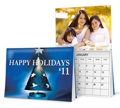 GotPrint holiday calendar print product example