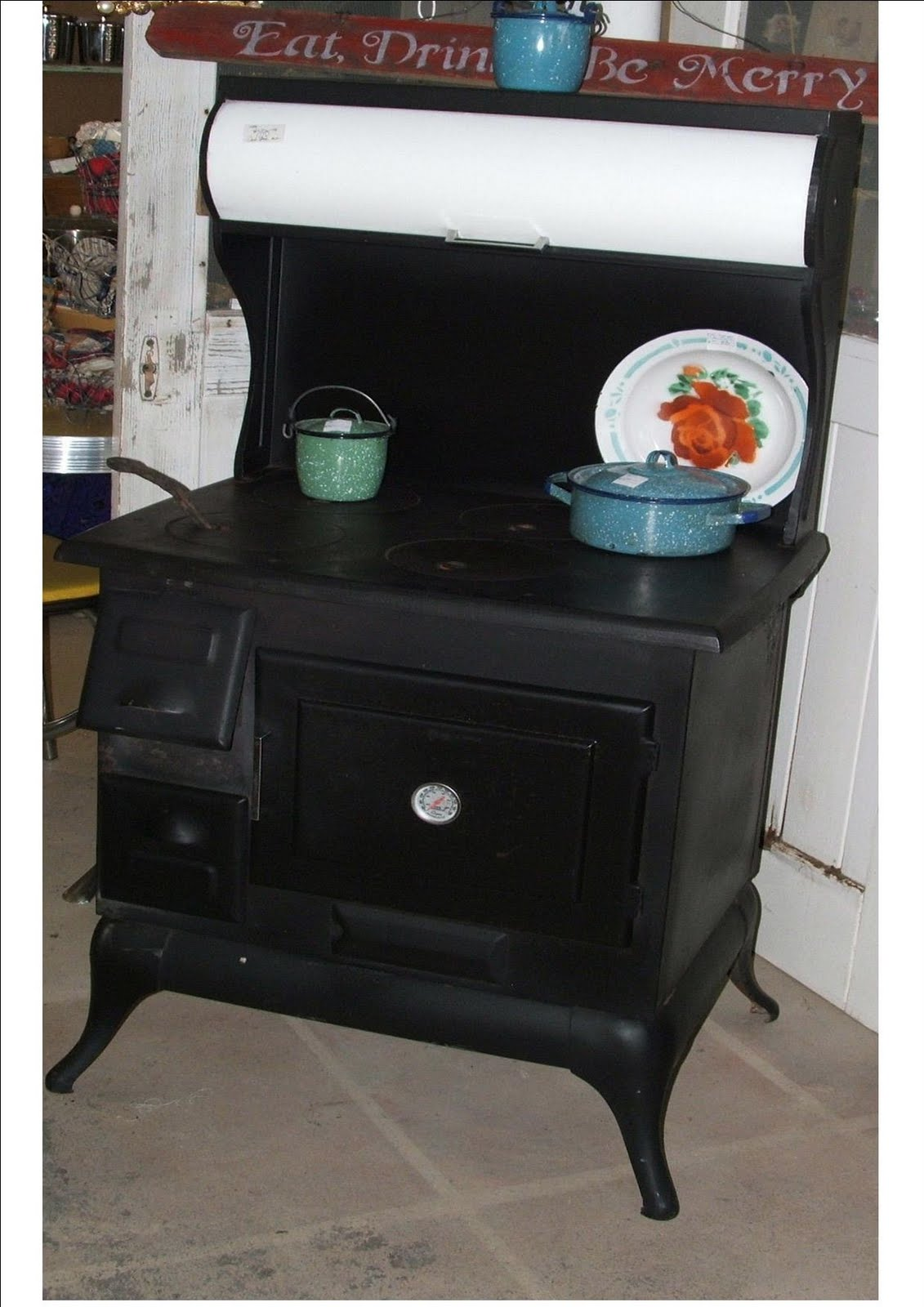 Chambers Countertop Stove : Red Rock Rose: VINTAGE