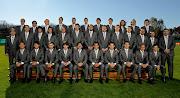 Las fotos grupales oficiales de la Selección Argentina para Sudáfrica 2010 seleccin con traje