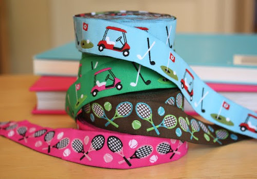 Golf and tennis ribbon
