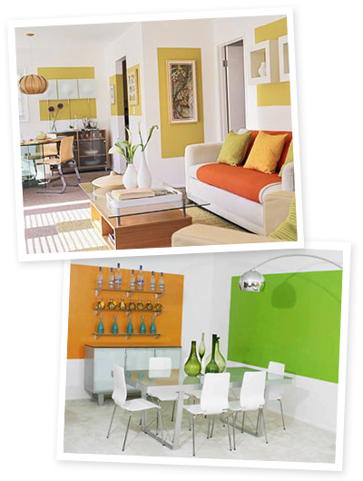 Site Blogspot  Decorating Living Roombudget on An Easy Decorating Idea   How About Orange