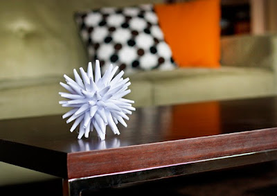 diy modern paper ornament