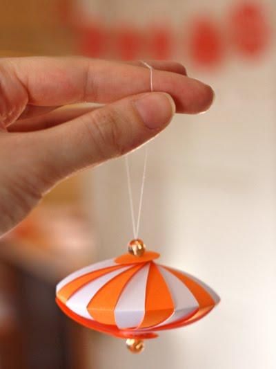Елочные игрушки бумаги своими руками елку