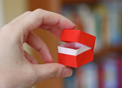 origami box with lid how about orange