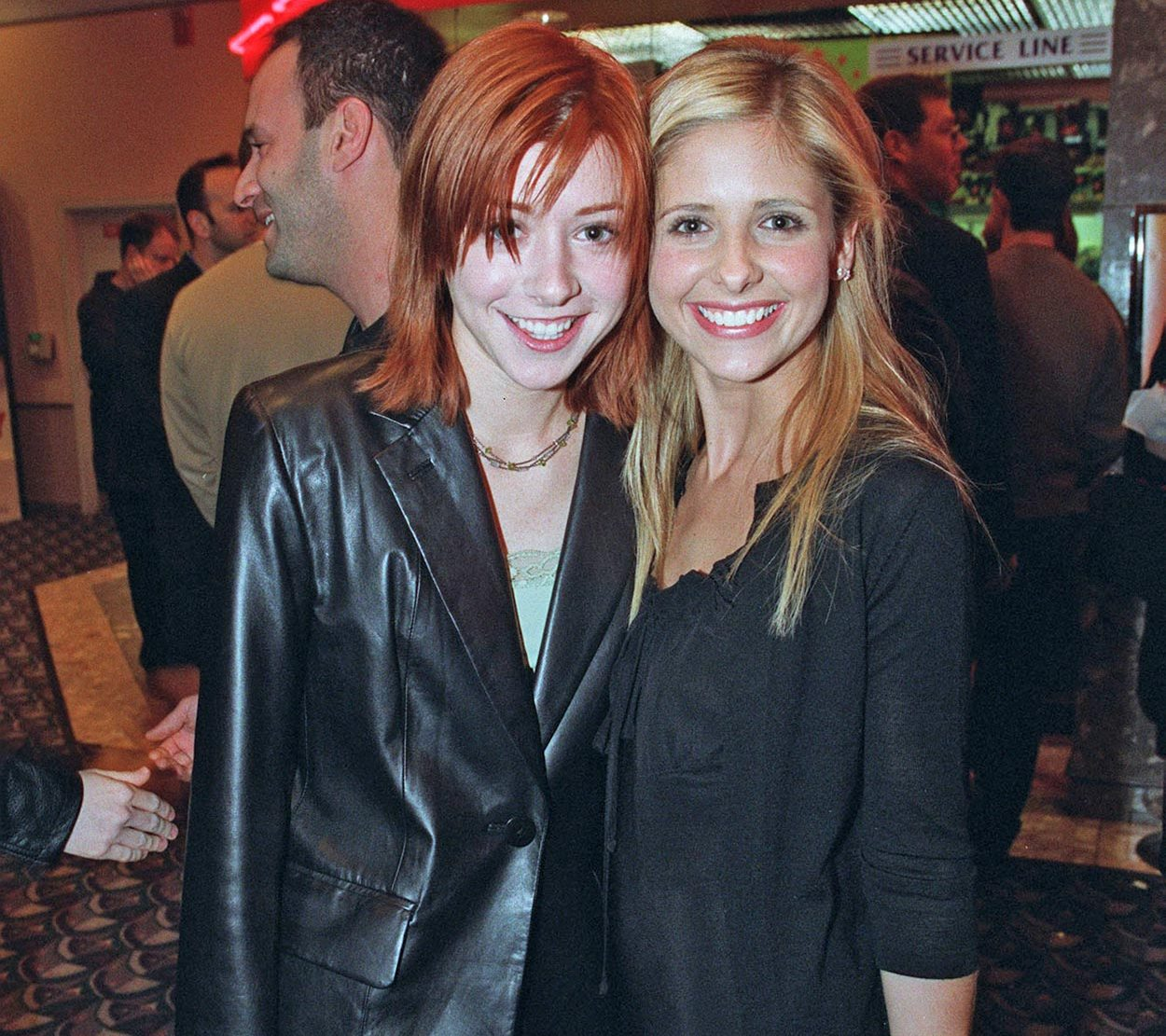 alyson hannigan and sarah michelle gellar