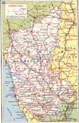 map of karnataka