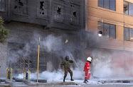 Incendian canal de TV opositor en Bolivia