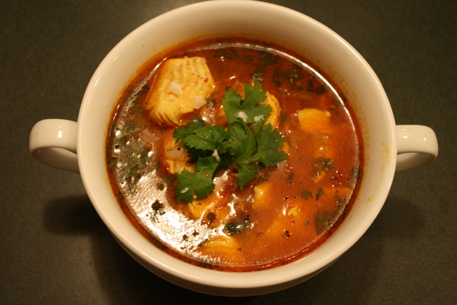 What 39 s cooking in your world day 96 libya shorbat bil for Fish broth soup