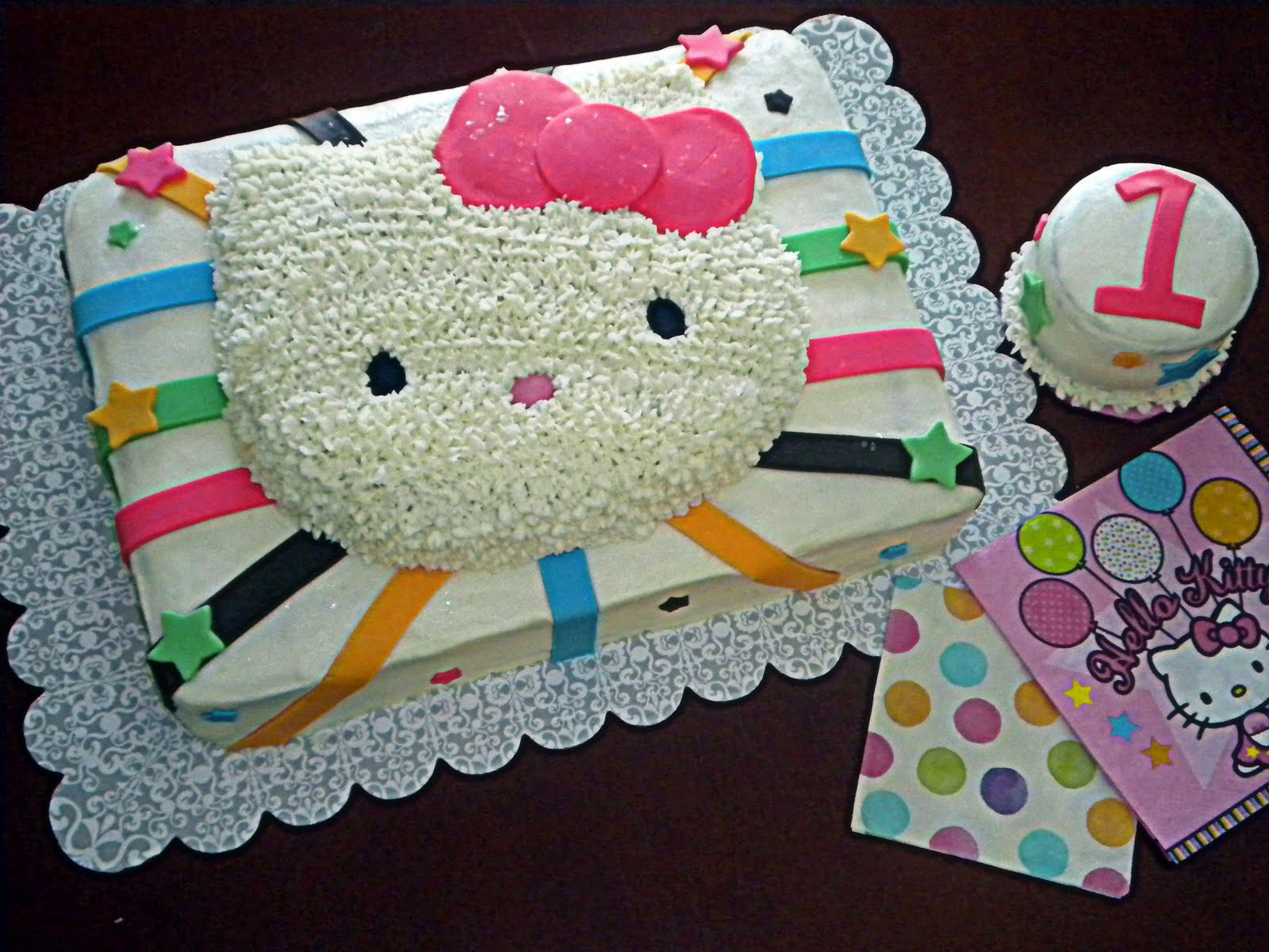 Hello Kitty Sheet Cake Images : Have a Piece of Cake: *Hello Kitty 1st Birthday*