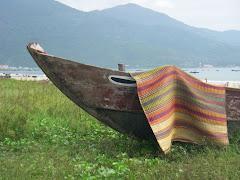 China Beached Boat