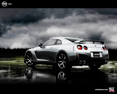 Nissan  on Cars Nissan Gt R Spec V Black 2010 Free Wallpaper Images Supercars