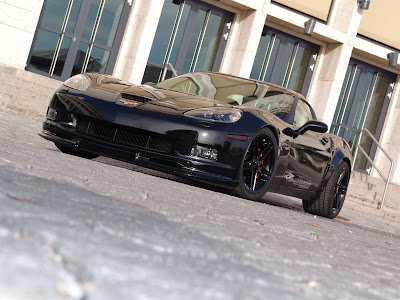 corvette z06 black edition. Geiger Cars Corvette Z06 Black