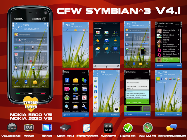 and V31 for 5530 so here are adapted to the CFW Our latest versions