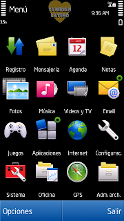 menu CFW ^ 3 Symbian v5.4 for Nokia 5800 and 5530