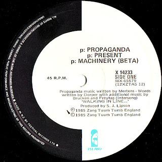PROPAGANDA - P MACHINARY [BETA]