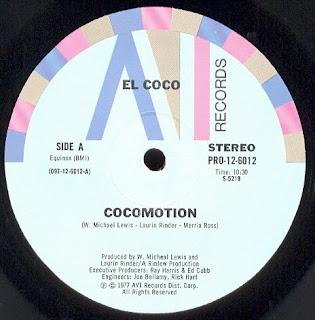 EL COCO - COCOMOTION [MAXIVINYL]
