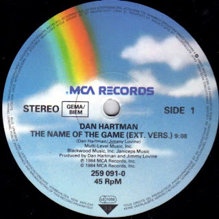 DAN HARTMAN - THE NAME OF THE GAME [MAXINYL]