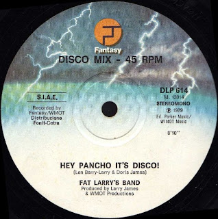 FAT LARRY'S BAND - HEY PANCHO IT'S DISCO !