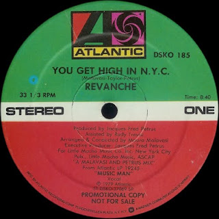 REVANCHE - YOU GET HIGH IN N.Y.C